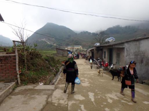 black hmong village