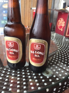 The local beers in Vietnam are all named after the city they are in