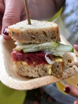 Yehuda Sichel: Montreal-style short rib sandwich