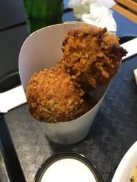 K-Pop fried kimchi balls